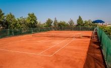 Maison d'hote terrain de tennis